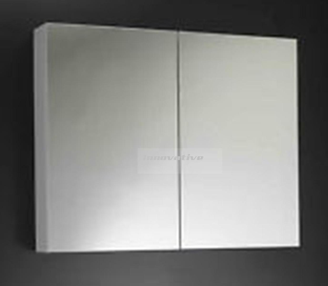 mirror cabinet medicine shaving bathroom 450wx550hx150d new wall hung
