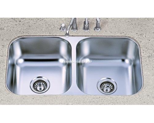 Double Bowl Under Mount Kitchen Sink Under Counter