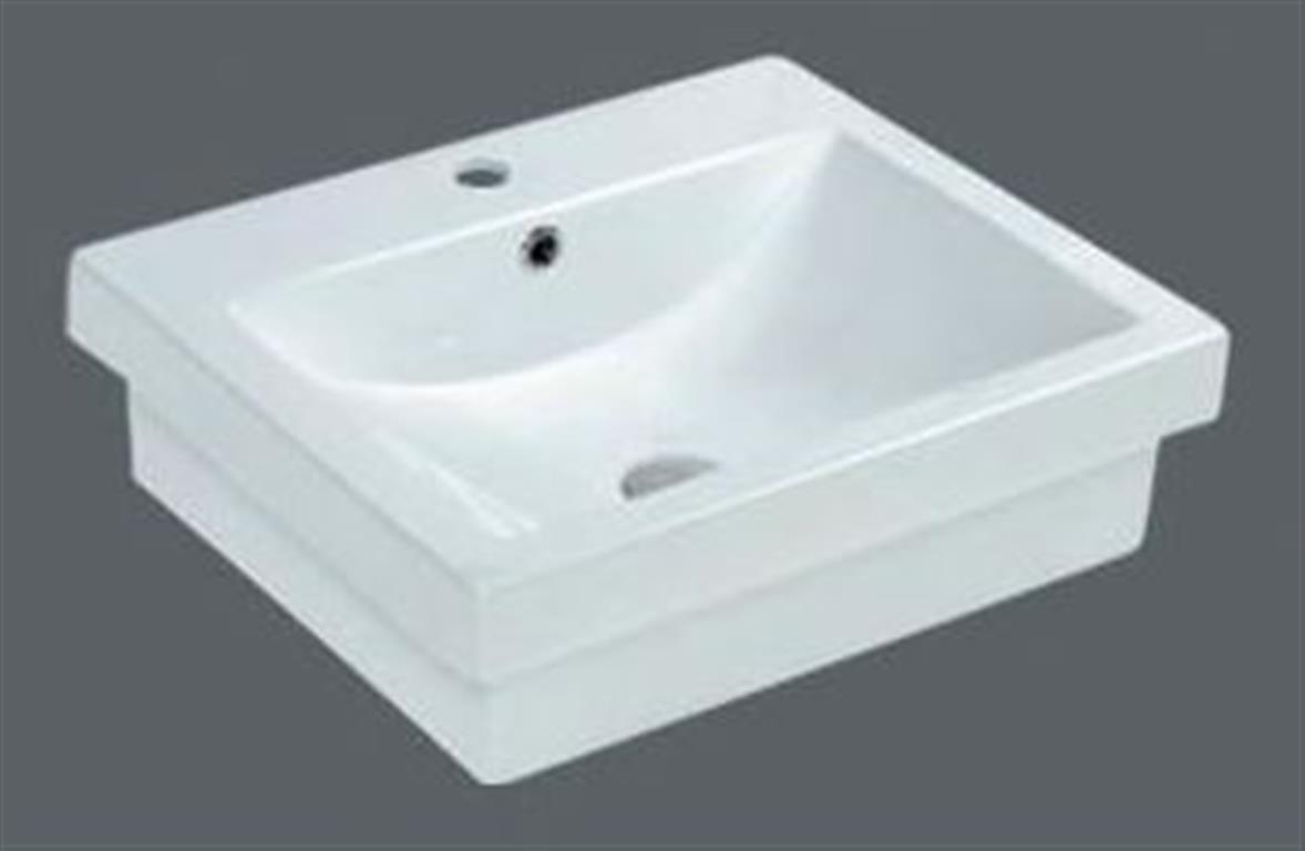 Basin Half Insert Above Counter Drop In Cube Basin 540 450 170