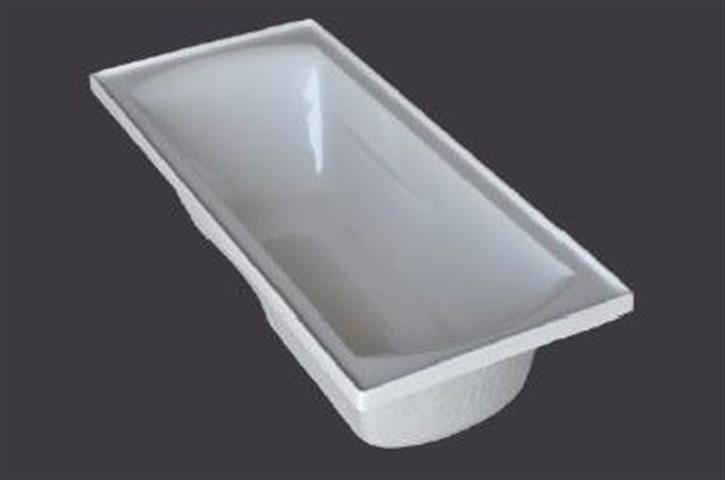 1500mm Acrylic Bath Tub Drop In Inset Design 1525 730 440mm Innovative