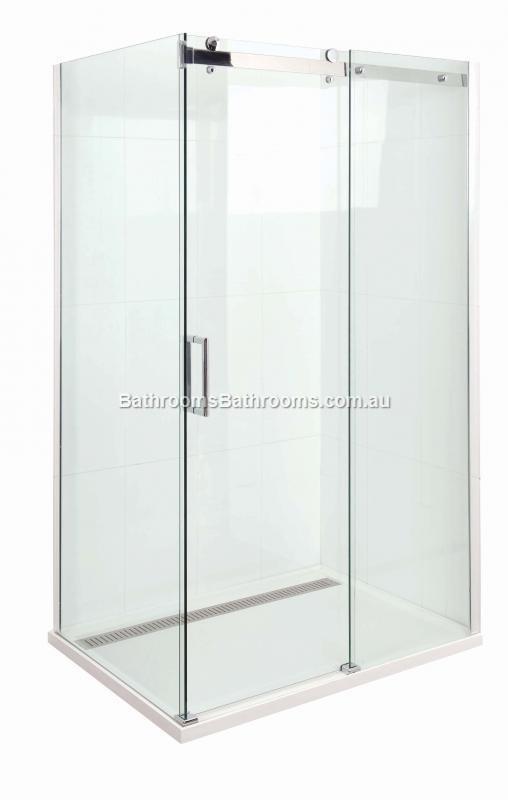 Marbletrend Shower Screen 1500mm Barossa Slider Front