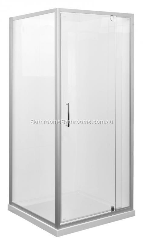 Marbletrend Kimberley Shower Screen 1m 1m Complete Door