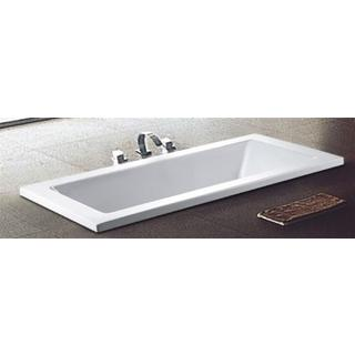 1500 / 1700 / 1800mm Drop In Inset Acrylic Bath Tub Cube Square Design*750/800*430mm