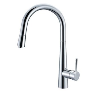PinTail- Kitchen Laundry Sink Mixer Pullout Concealed Spout Brass Chrome