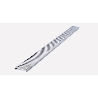 Punched Slotted SS Grate Only 1160mm (To Suite Waterproofing Shower Tile Over Tray 1200*900mm)