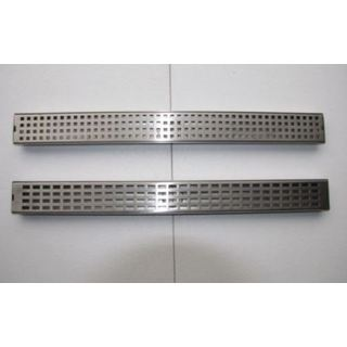 600mm Stainless Steel Linear Floor Waste Channel Grate Shower Waste