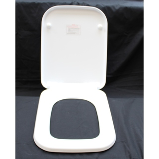 Duraplex Heavy Duty Scratch Resistant Soft Close Seat & Lid Push Button Release Solid Ceramic like feel