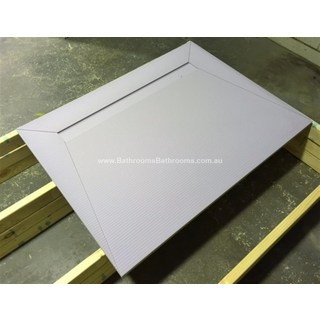 Waterproof Tile Over Tray Linear Grate 1200*900mm Shower Base Leak Prevention