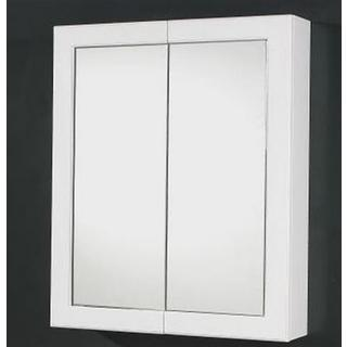 Mirror Cabinet Shaving Medicine Bathroom 600Wx750H Frame Door NEW Wall Hung or In-wall