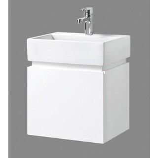 Bathroom Wall Hung Vanity Narrow Slim Ceramic Basin 480W