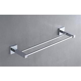 Double Towel Rail 600mm square Design Bathroom Accessories * NEW*