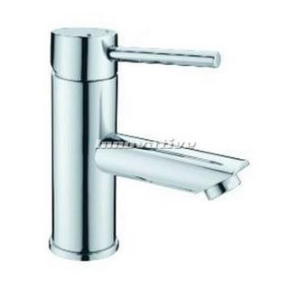 Lollypop Pintail Lever Fixed Bathroom Basin Mixer Tap Faucet Brass Chrome
