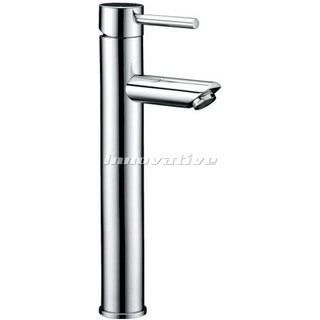 Lollypop Pintail Lever Tall Fixed Bathroom Basin Mixer Tap Faucet Brass Chrome
