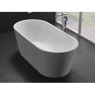 Bath Tub Free Standing 1700mm Modern Oval Curve Design 1700*800*580