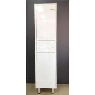 Bathroom Tall Boy Vanity 2Pac White 1 Draw 2 Door 1700x400x400mm
