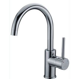Lollypop Pintail Swan Swivel Kitchen Sink Mixer Tap Laundry Trough Faucet Brass Chrome