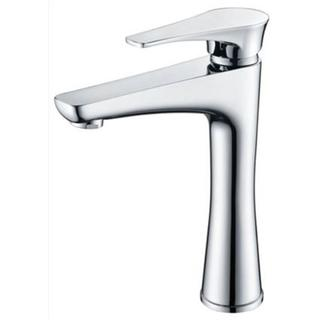 Teardrop Hybrid Tall Basin Mixer Bath Wall Mixer Bathroom Brass Chrome