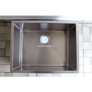 80 Litre Square Under Mount Kitchen Laundry Sink Cube Hand Made 650x500x300