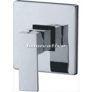 Cube Bold- Shower Mixer Bath Wall Mixer Bathroom Brass Chrome