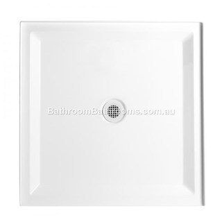 Marbletrend Shower Base Hampton 1000*1000 Tray Center Outlet (Centre)