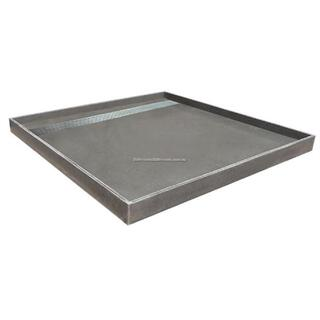 Universal Tile Over Tray 2150*1010mm Shower Base & Channel Grate Waterproof [Grate: Tile Insert]