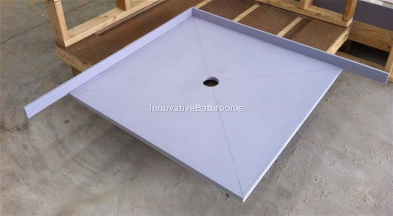 Waterproof Tile Over Tray Up To 1200*900mm Shower Base Leak ...
