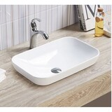 Basin Half Insert Above Counter Drop In Semi Inset 515*340*155 (65mm above bench)