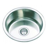 Single Bowl Round Sink Drop In/ Undermount 430*170 Stainless Steel