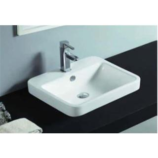Basin Half Insert Above Counter Drop In Curved corner Basin 515*445*160 (60mm above bench)