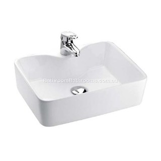 Bench Mount Vessel Basin 1 Tap Hole 480*370*130 Marbletrend Fresh 1TH Vessel