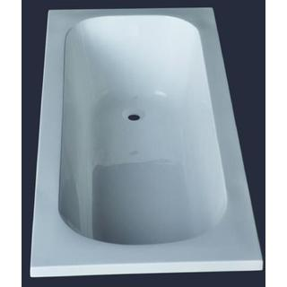 1400mm Acrylic Bath Tub Small Drop In Inset Design 1400*700*400mm
