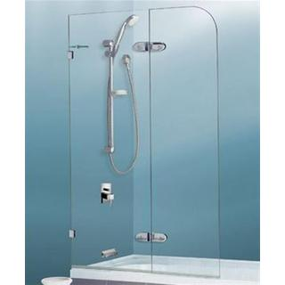 Bath Shower Folding Screen Panel 900*1450 10mm Toughened Glass