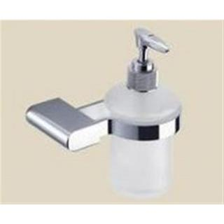 Soap Dispensor Bottle and Wall Mount Curve90 Square Edge Bathroom Accessories