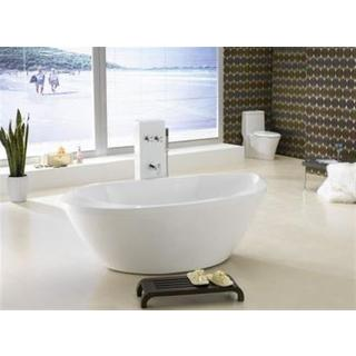 Bath Tub Free Standing  Extra Large Modern Oval Curve Design 1805*920*675