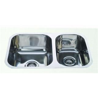 1 & 3/4 Bowl Undermount Sink 695*450*170