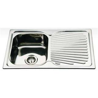 Single Bowl & Drain Kitchen Sink Square Corner 780*480*170