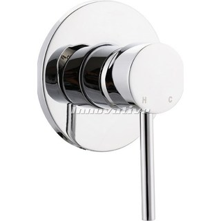 Lollypop Pintail Lever ShowerMixer Bath Mixer Wall Mixer Brass Chrome