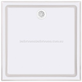 Polymarble Shower Base Sizes:820/900/1000/1060/1200/1500 Aus Made 4 Sided Tile Lip