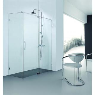 Marbletrend Shower Screen 1200mm Tivoli 3 Series Pivot Front Panel Set Frameless
