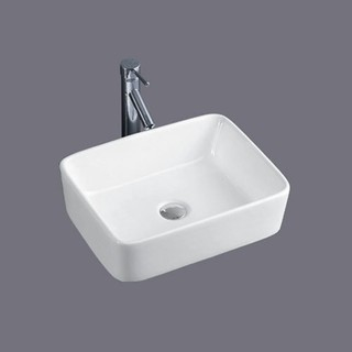 Basin Bench Mount Slim Lip Square 480x370x130mm