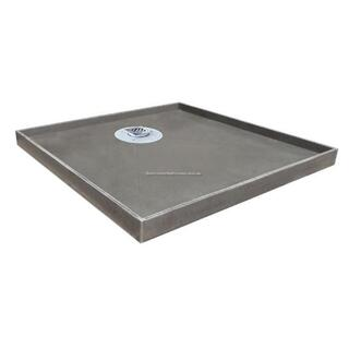 Universal Tile Over Tray 1520*910 Shower Base & Chrome Grate Puddle Flange Waterproof